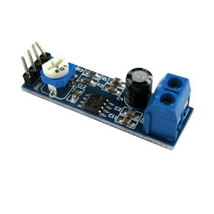 ماژول تقویت کننده ( آمپلی فایر ) قابل تنظیم LM386